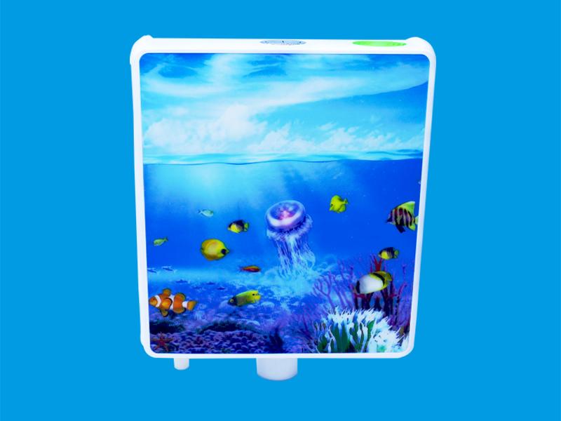厕所水箱3D海底世界 DS036