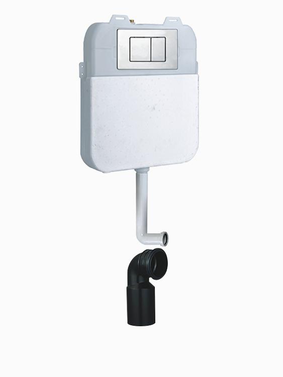 隐藏式蹲厕水箱R709
