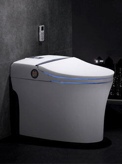 全自动智能马桶一体式即热坐便器带语音控制